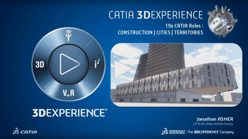 CATIA 3DEXPERIENCE Construction Sities Territories