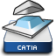 CATIA V5 Core and Cavity Icon CATCCV