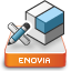 CATIA V5 Digital Mock-Up Icon ENOREEV