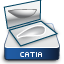 CATIA V5 Free Style Sketch Tracer Icon CATFSK