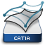 CATIA 3DEXPERIENCE Mechanical Surface Icon CATFSP